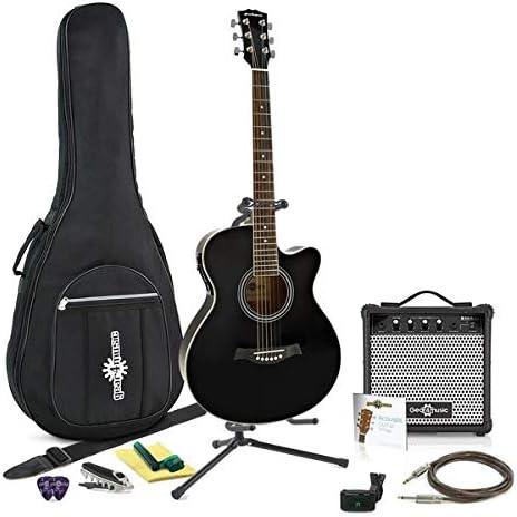 Guitarra Electroacustica Single Cutaway + Paquete Completo de ...