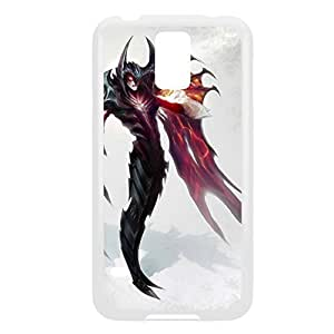 Aatrox-003 League of Legends LoL case cover Samsung Galaxy Note4 - Plastic White