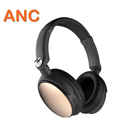 28h Cabin - GOUP Bluetooth Noise Canceling Headphones, Head-Mounted Wireless Stereo Headphones, Heavy Bass 28H Playback Time, Can Be Used in Aviation