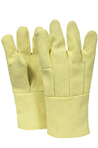 National Safety Apparel G64TCSR0814 Thermobest Glove with Thermobest Cuff, 22 oz, Large, Yellow by National Safety Apparel Inc (Image #1)