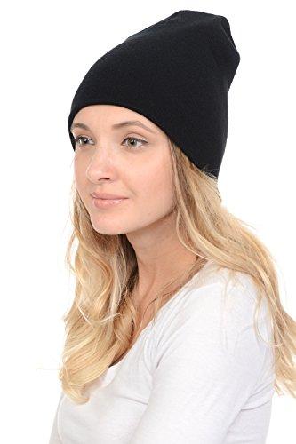 Black Cuffed Beanie Knit (8.5