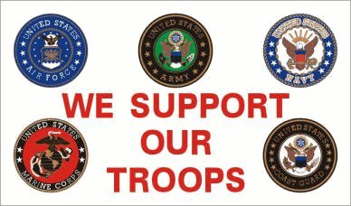 We Support Our Troops Flag #47 Review