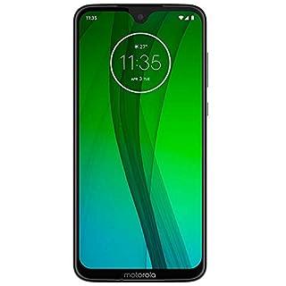 "Motorola Moto G7 (64GB, 4GB RAM) 6.2"" FHD+ Max Vision, Snapdragon 632, GSM Unlocked Global 4G LTE (T-Mobile, AT&T, Metro, Straight Talk) International Model - XT1962-4 (Ceramic Black)"
