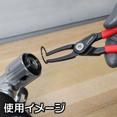 【アストロプロダクツ】AP スナップリングプライヤー 穴用 ストレート