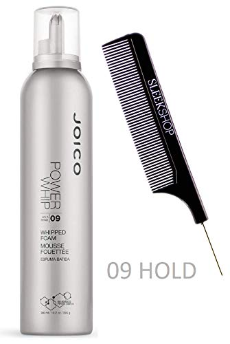 Joico POWER WHIP 09 Hold, WHIPPED FOAM MOUSSE (Stylist Kit) Bio-Advanced Peptide Complex (10.2 oz/ 300 ()