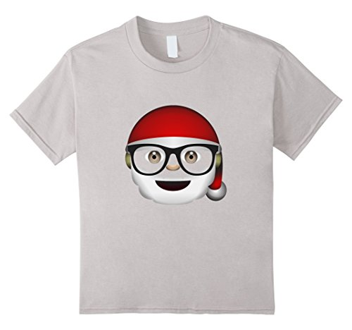 Christmas Themed Costume Idea (Kids Santa Claus Christmas Costume T-shirt 4 Silver)