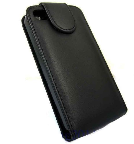Heavy Duty Apple iPhone 6plus Black Flip Premium PU Leather Case Cover For Apple iPhone 6plus by G4GADGET®