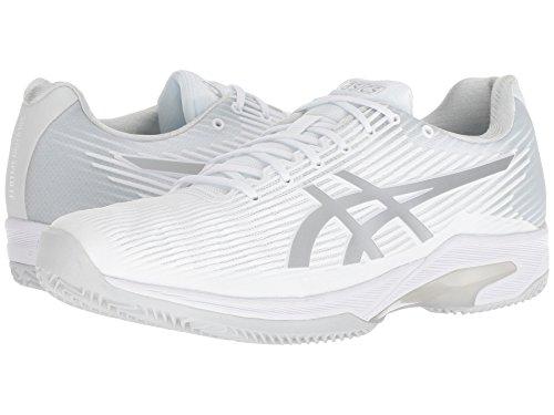 [asics(アシックス)] メンズランニングシューズ?スニーカー?靴 Solution Speed Clay White/Silver 11.5 (29cm) D - Medium