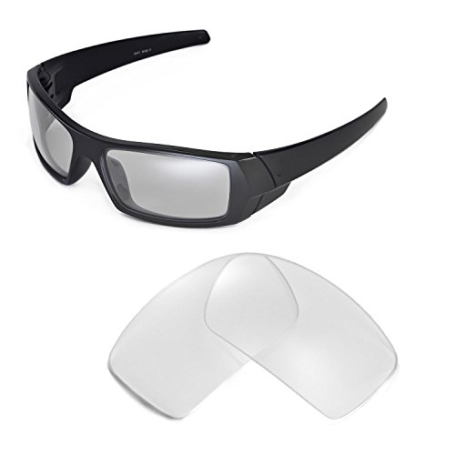 Walleva Replacement Lenses for Oakley Gascan Sunglasses - Multiple Options Available - Oakley Glasses Lens Clear