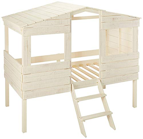 DONCO KIDS 1380TLRS Series Bed, Twin, Rustic Sand (Real Tree Bedroom Set)