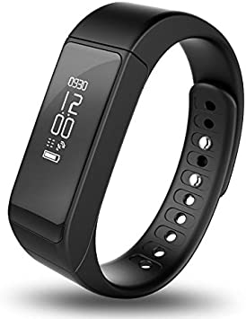 Aihontai i5 Plus Bluetooth Smart Bracelet Watch Wristband Sports Fitness Tracker Pedometer Step Counter Tracking Calorie Health Sleep Monitor for ...