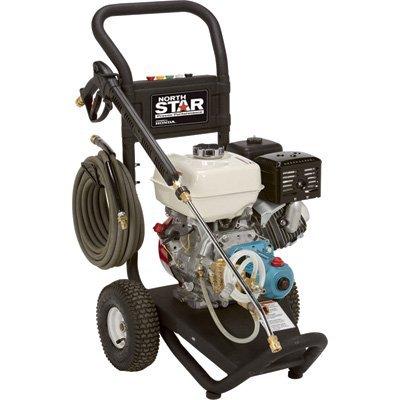 NorthStar Gas Cold Water Pressure Washer - 3300 PSI, 3.0 GPM, Honda Engine, Model# (3 Gpm Cat)