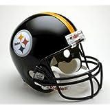 Pittsburgh Steelers Riddell Full Size Deluxe Replica Football Helmet
