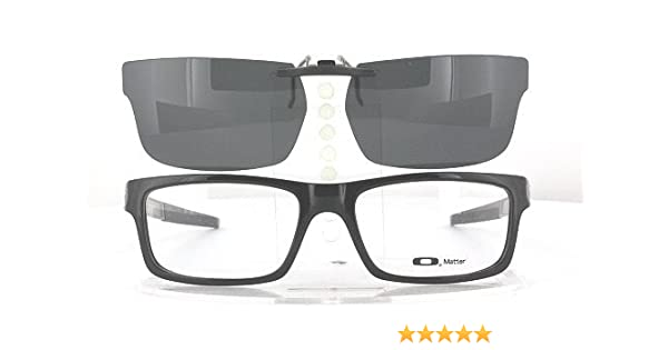 948d27682d5 Amazon.com  OAKLEY CURRENCY-OX8026-54X17 POLARIZED CLIP-ON SUNGLASSES  (Frame NOT Included)  Health   Personal Care