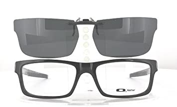 c0166d3e9639f Amazon.com  OAKLEY CURRENCY-OX8026-54X17 POLARIZED CLIP-ON ...