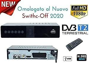 Decodificador Digital terrestre DVB T2 / HDMI / DVB T2 HEVC / Full HD Receptor TV / grabadora USB Decoder PVR / DVB-T2 4K, decodificador Digital Terrestre Scart: Amazon.es: Electrónica