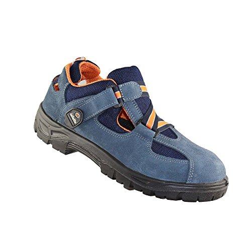 Jallatte J0614 S1P SRC Arbeitsschuhe Lagerschuhe Sandale Blau Blau