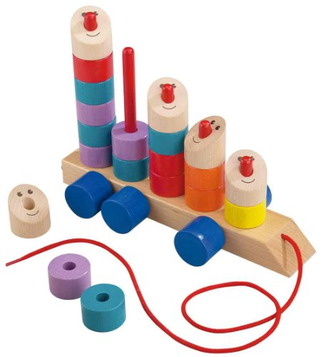 Convoi Pull & Stack Toy by HABA