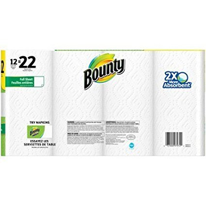 Bounty Paper Towels, Super Rolls, 74 sheets, 12 rolls by Bounty (Image #1)