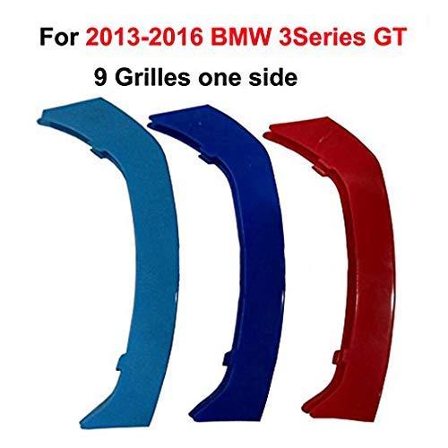 11 Grilles For 3 Series E46 316i 318i 320i 325i 328i 330i 323i 2002-2005 -Kidney Grills Insert accessories-M-Color Front Grille Stripe Decals