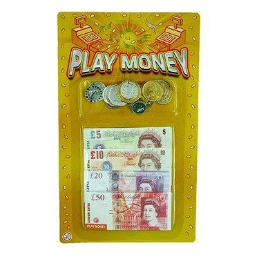 PLAY MONEY POUNDS