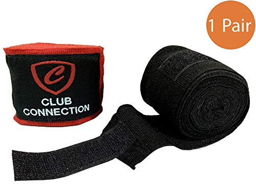 Celebrita MMA 1 Pair - MMA Hand Wraps 180 Inch - Kick Boxing, Muay Thai & BJJ Hand Wrist Support for Men & Women - Thai Wraps Muay
