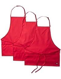 Dickies Chef 3 Pack Three Pocket Adjustable Bib Apron