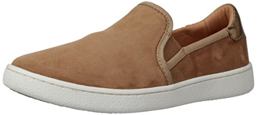 UGG Women's CAS Fashion Sneaker,Chestnut,9 M US