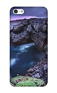 Graceyou High Quality Beautiful Ireland Landscape Case For Iphone 5c / Perfect Case For Lovers