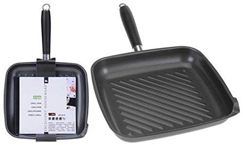 Excellent Houseware Non Stick Grilling Griddle Steak Aluminium Frying Pan