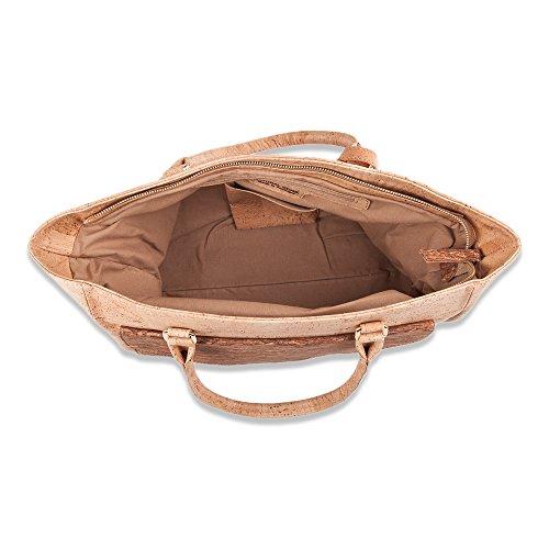Kork-Tasche, Damenhandtasche aus Kork, Henkeltasche, Tasche-Kork