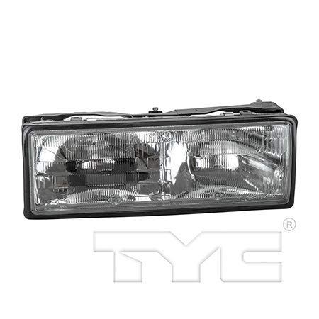 Fits 1987-1990 Chevrolet Caprice Headlight Driver Side Bulbs Included GM2503110 - Replaces 16513076