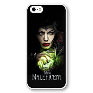 Personalized Disney Cartoon Sleeping Beauty Maleficent Hard Plastic Phone Case Cover for iPhone 5c