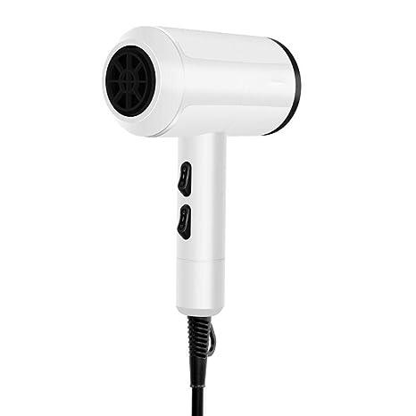 Gfone Secador de cabello termostático de alta potencia para el hogar, iones negativos, viento