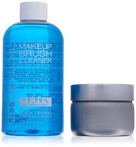 (Makeup Brush Cleaner Pro Starter Kit, 8 fl oz (with)
