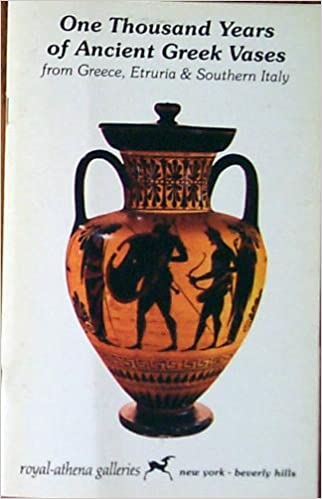 One Thousand Years Of Ancient Greek Vases From Greece Etruria