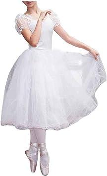 Las Mujeres de la Manga del Soplo del Ballet Blanco Vestido Largo ...
