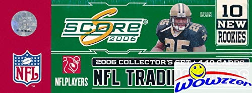 2006 Score NFL Football MASSIVE Factory Sealed Complete Factory Set with 440 Cards! Includes 110 ROOKIE Cards Plus NFL Hall of Famers Tom Brady, Peyton Manning, Brett Favre & More! $50 Value! WOWZZER!