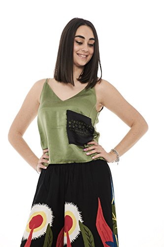 Silk Verde Lush 5preview Tank Donna Top S146 7HnwPCq