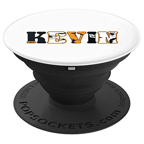 Kevin Spooky Name Halloween Gift PopSockets Grip and Stand for Phones and Tablets -