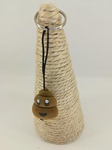 LLAVERO CACA MARRON: Amazon.es: Handmade