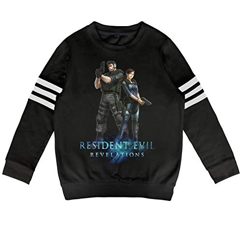 Resident Evil Revelations All Costumes - Slimerland Kid Resident-Evil-Revelations- Sweatshirt Long Sleeve Costumes for Boys Or