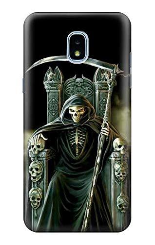 Reaper Star - R1024 Grim Reaper Skeleton King Case Cover For Samsung Galaxy J3 (2018), J3 Star, J3 V 3rd Gen, J3 Orbit, J3 Achieve, Express Prime 3, Amp Prime 3