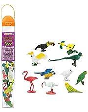 Safari Ltd 6804-04 Exotic Birds Toob Figure Playset (11 Pieces),680404,,Multicolor
