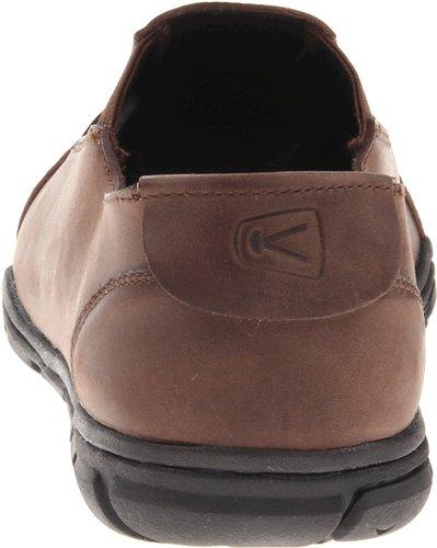Keen Bleecker Slip On CNX Herren Schuhe Sneaker Leder Freizeit Business braun Chocolate Brown