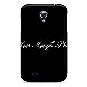 New Style Kristhnson Hard Case Cover For Galaxy S4- Live Laugh Die