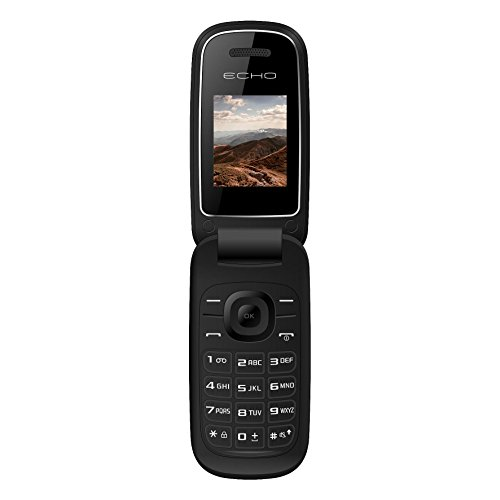 ECHO CLAPN 2G Smartphone (4,6 cm (1,8 Zoll), 64MB, 8GB, 128x160 Pixel) schwarz