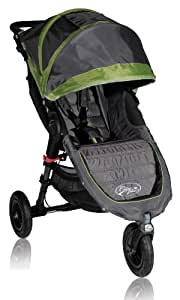 Baby Jogger 2012 City Mini GT Single Stroller, Shadow/Green (Discontinued by Manufacturer)