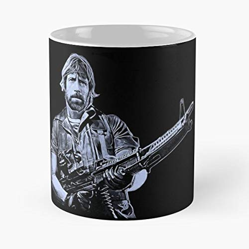 Chuck Norris Star - Coffee Mugs Best Gift For Father Day ()
