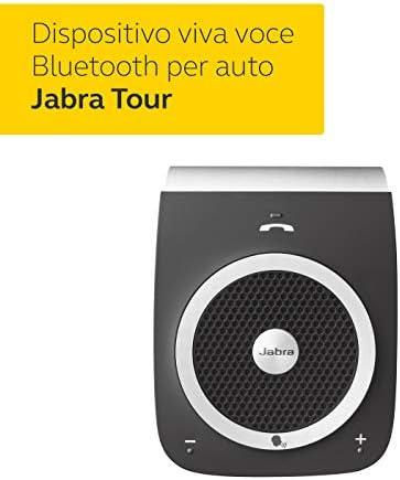 Jabra Tour Vivavoce per Auto Nero Bluetooth Wireless